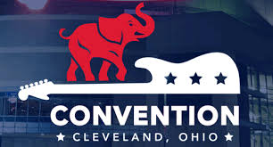 Image in support of: PLEASE READ PLATFORM!  Republican Platform Approved By Convention Delegates . Republican National Convention Cleveland, Ohio at the Quicken Loans Arena July 18-21, 2016.