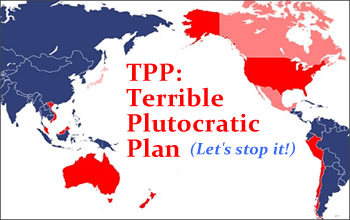 Image in support of: STOP THE TPP Sign The Petition, Stand Up For Working Families