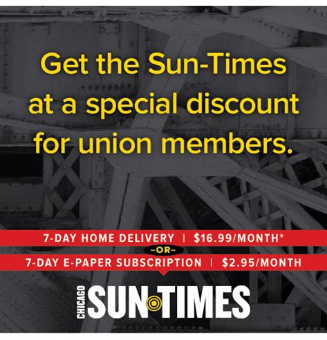 Image in support of: A Coalition of Unions And Like-Minded Investors, Including The Chicago Federation of Labor, Purchased The Chicago Sun-Times, The Chicago Reader And Straightdope.com In July 2017
